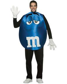 Faschingskostüm M&M's blau