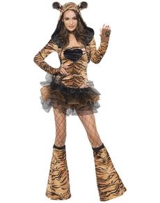 Sexy Tigerin Kostüm Fever