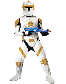 Kostüm Kommandant Cody Clone Trooper Deluxe für Erwachsene