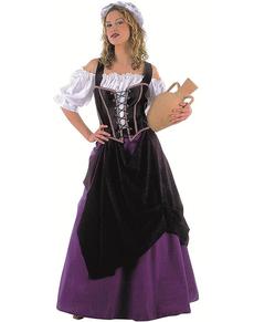 Kostüm Wirtin aus dem Mittelalter
