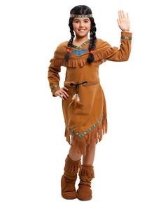 Apachen Indianerin Kostüm für Mädchen